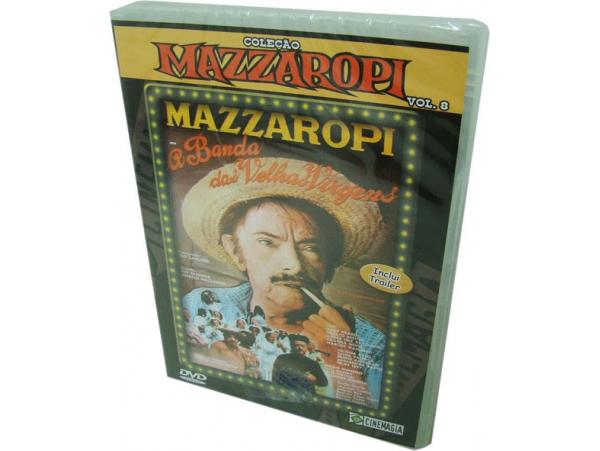 Mazzaropi - Vol.8 - A Banda Das Velhas Virgens - DVD