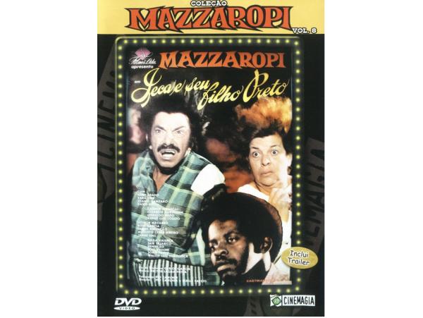 Mazzaropi - Vol.8 - Jeca E Seu Filho Preto - DVD