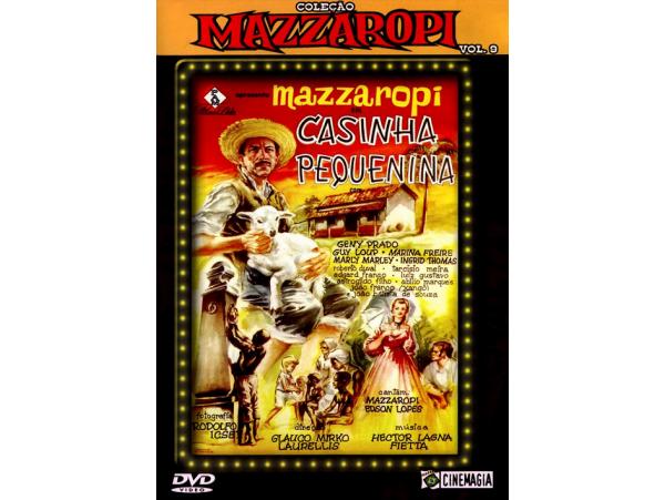 Mazzaropi - Vol.9 - Casinha Pequenina - DVD