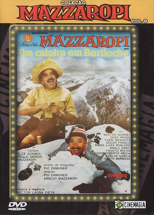 Mazzaropi - Vol.9 - Um Caipira em Bariloche - DVD