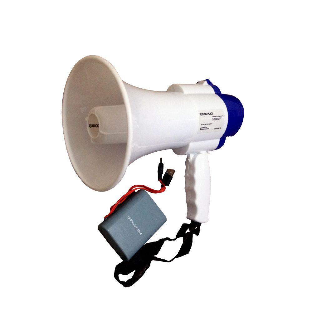 Megafone de Mão SoundVoice MF-20