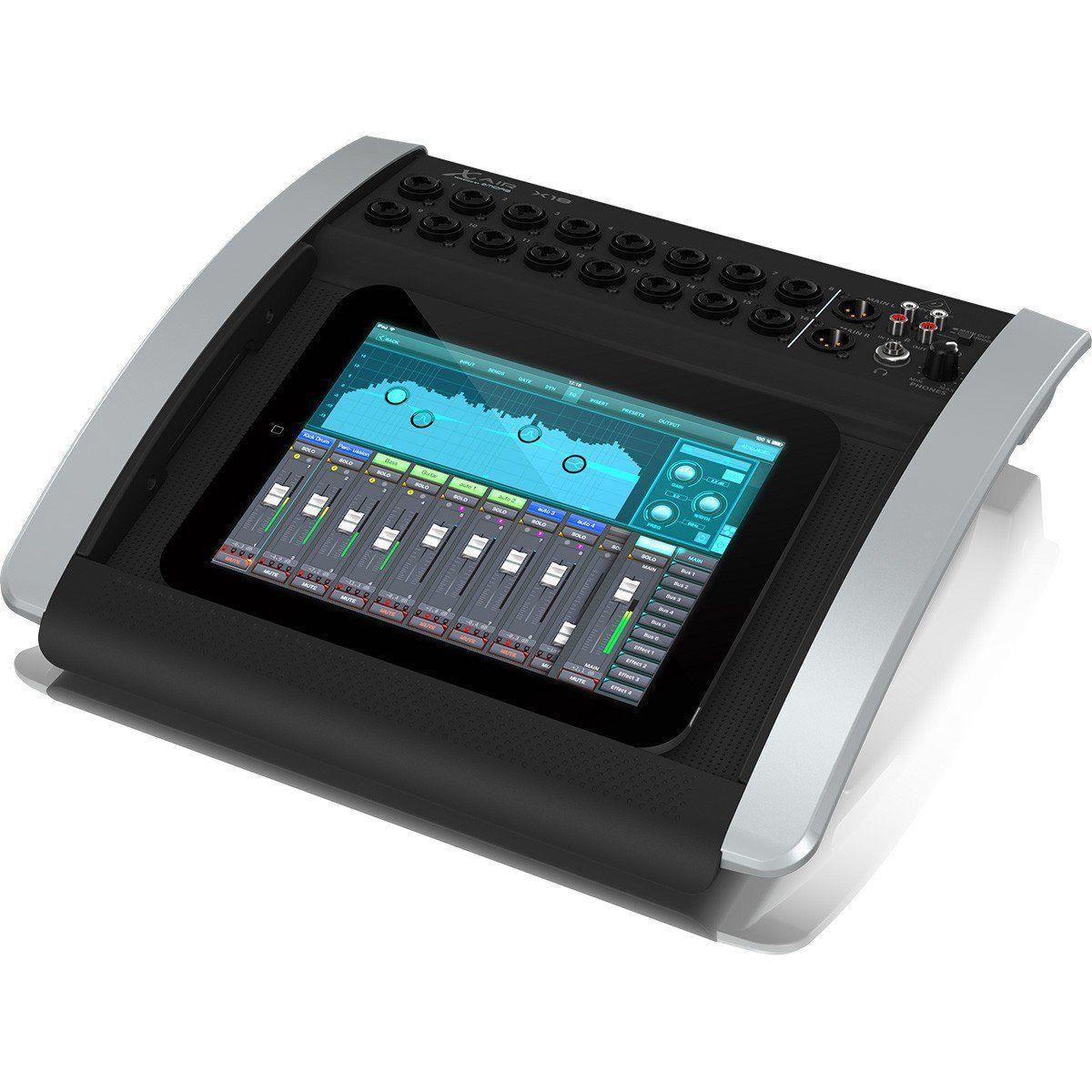 Mesa De Som Digital 18 Canais Behringer X Air X18 Usb Wi-fi