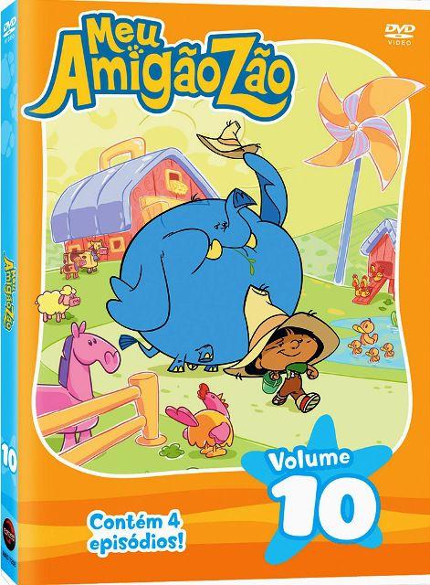 Meu Amigãozão - Vol.10 - DVD