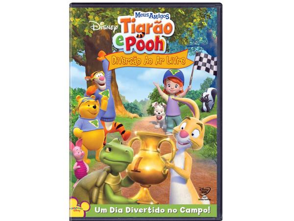 Meus Amigos Tigrão e Pooh - Diversão ao Ar Livre - DVD