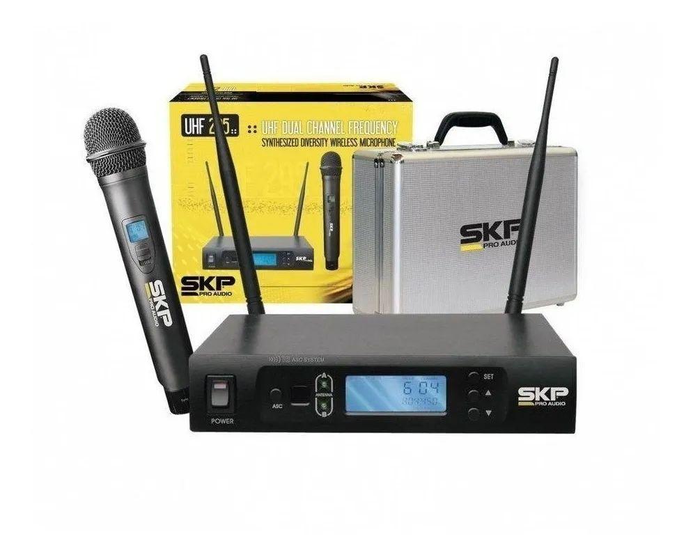 Microfone De Mão Sem Fio Uhf -  SKP UHF 295