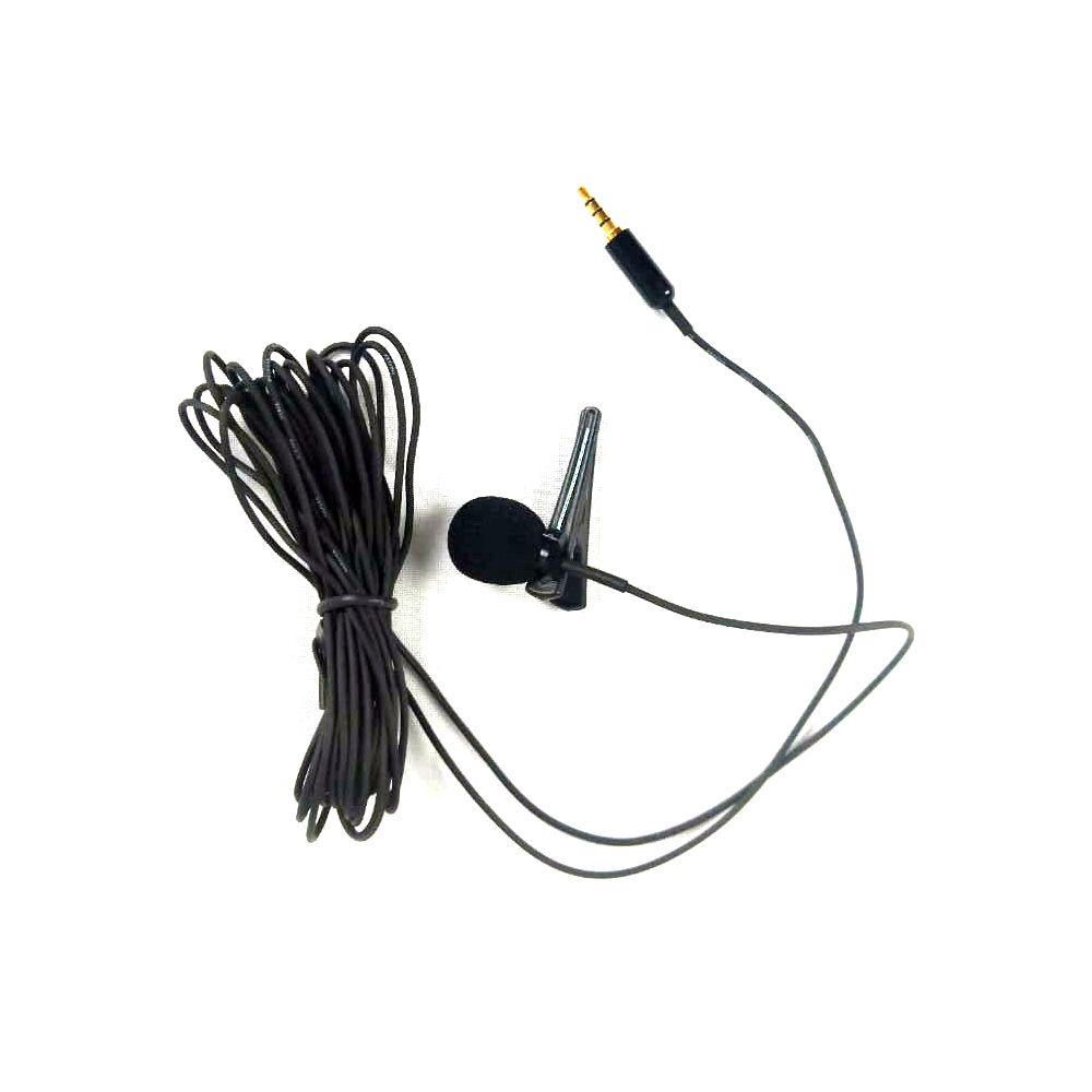Microfone Lapela para Celular SLP60 NEW LIVE Cabo 5 metros
