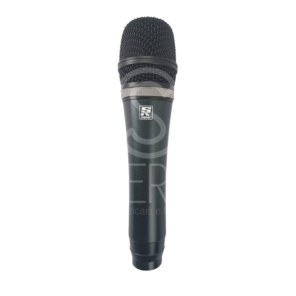 Microfone Profissional Com Cabo 5 Metros P10/xlr Staner St82