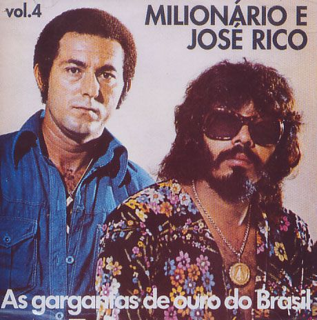 Milionário & José Rico - As Gargantas - Vol. 4 - CD