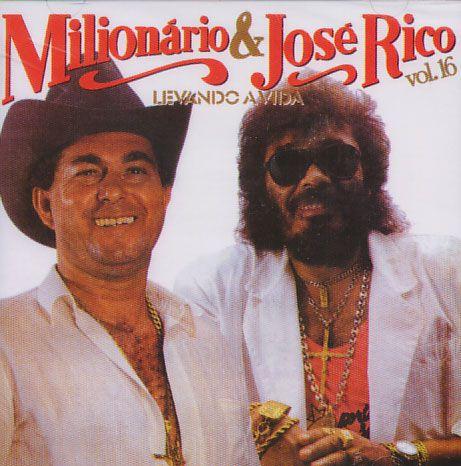 Milionário & José Rico - Levando A Vida. Vol. 16 - CD
