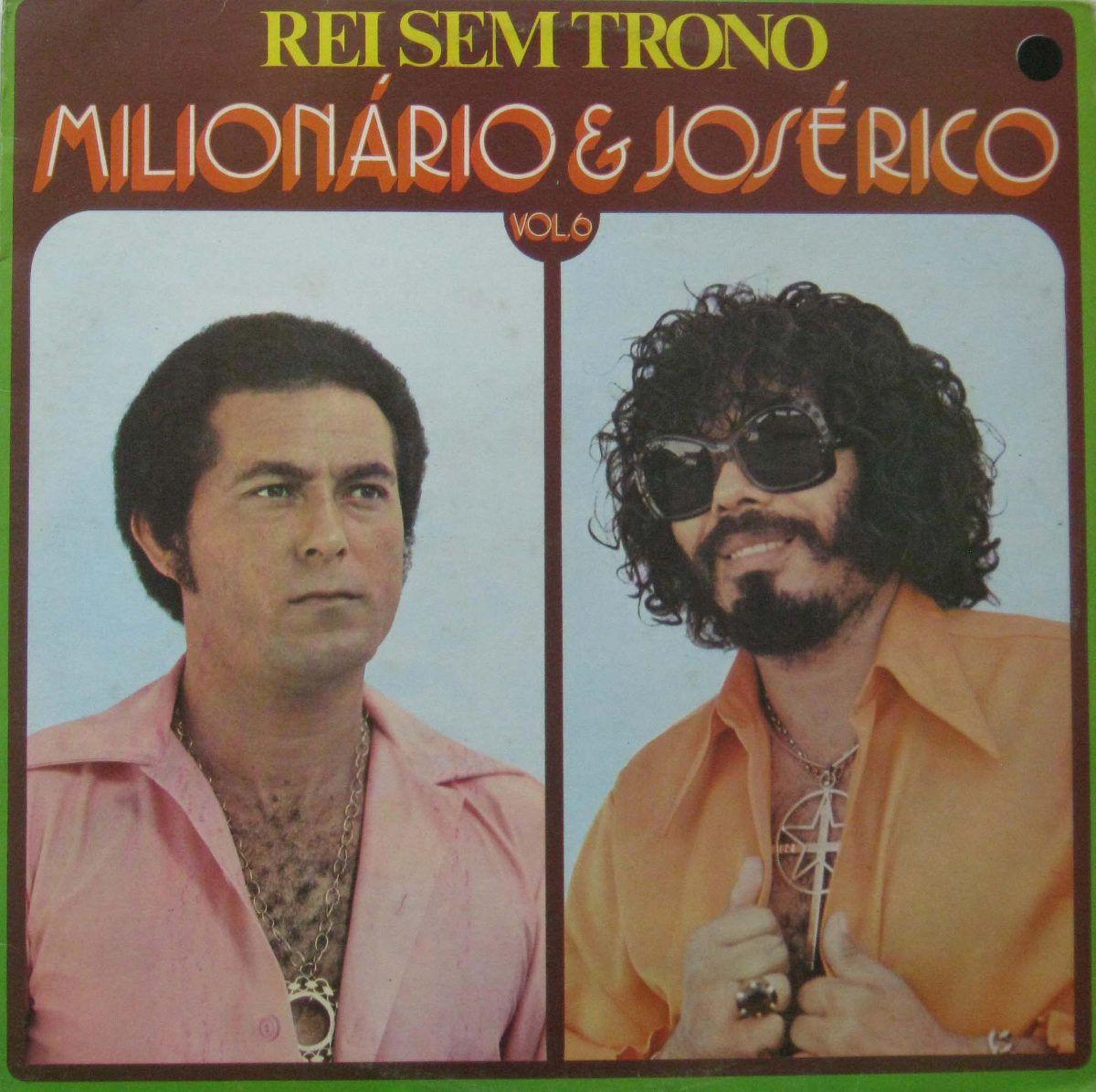Milionário & José Rico - Rei Sem Trono - Vol.6 - CD
