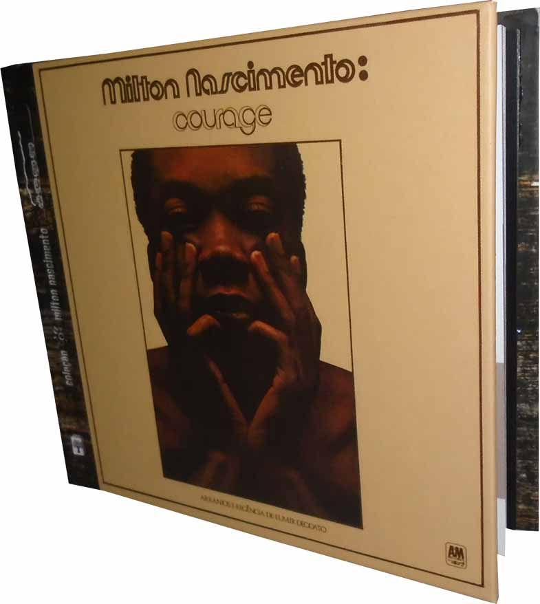 Milton Nascimento - Courage - Livro+CD