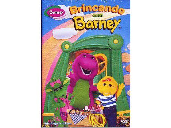 Mini-dvd - Brincando Com Barney