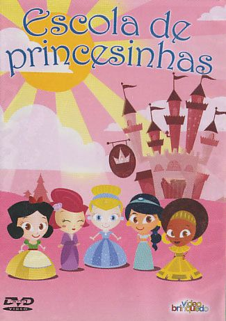 Mini-DVD - Escola de Princesinhas