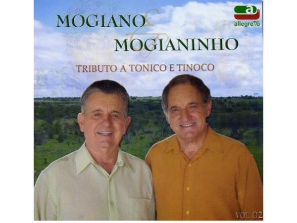 Mogiano & Mogianinho - Tributo - CD