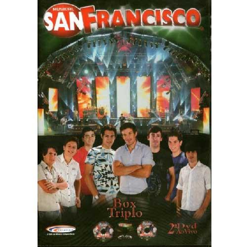 Musical San Francisco - 2⺠Dvd Ao Vivo (envelope)