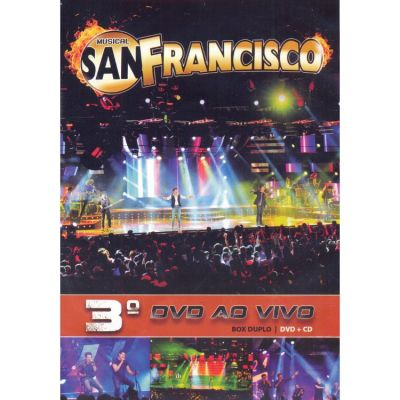 Musical San Francisco - 3º Dvd Ao Vivo - Cd+Dvd
