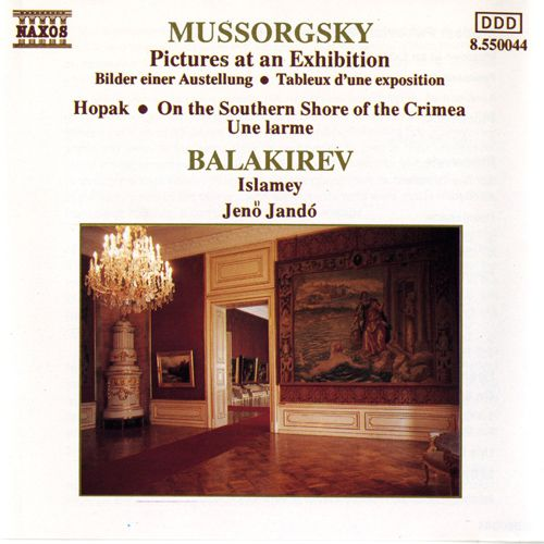 Mussorgsky - Pictures At Exhibition / Balakirev - CD