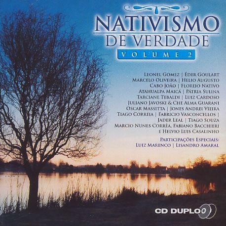 Nativismo de Verdade - Vol. 2 - Duplo - CD