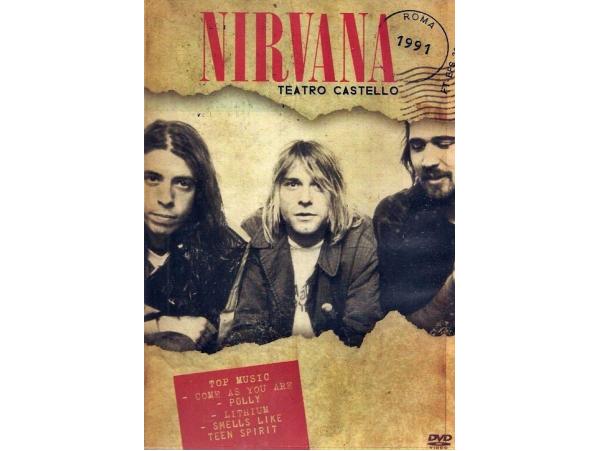 Nirvana - Ao Vivo No Teatro Castello - Roma - 1991 - DVD