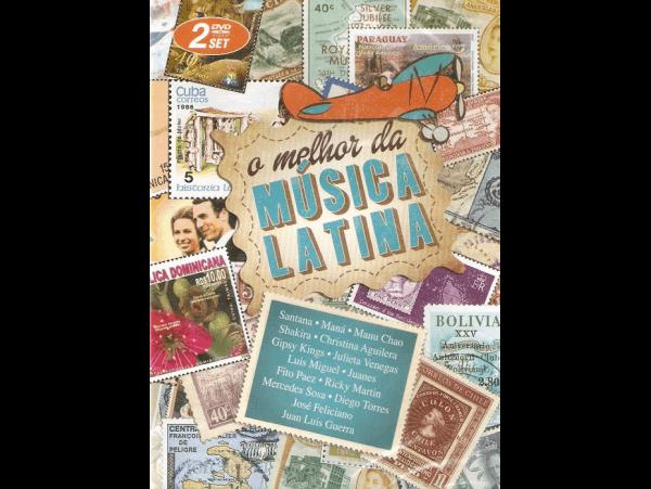 O Melhor da Musica Latina - Duplo - DVD