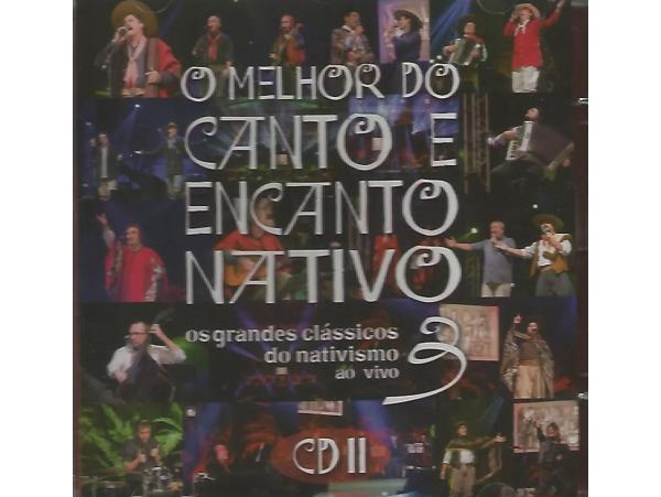 O Melhor Do Canto E Encanto Nativo 3 - Disco 2 - CD