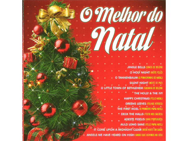 O Melhor Do Natal - CD