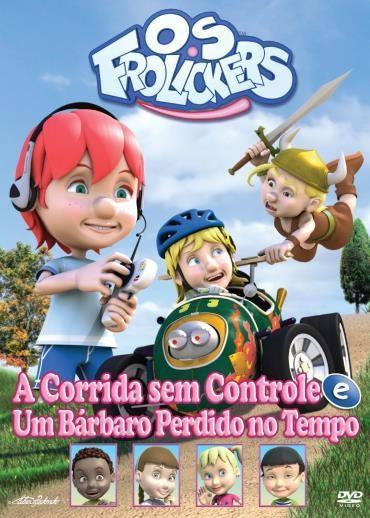 Os Frolickers - A Corrida E Um Bárbaro - DVD