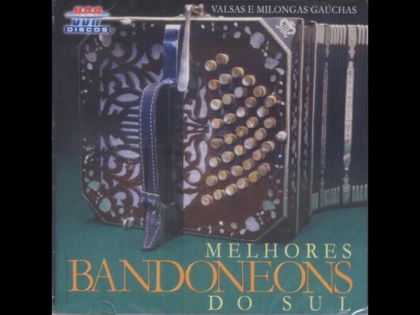 Os Melhores Bandoneons Do Sul - CD