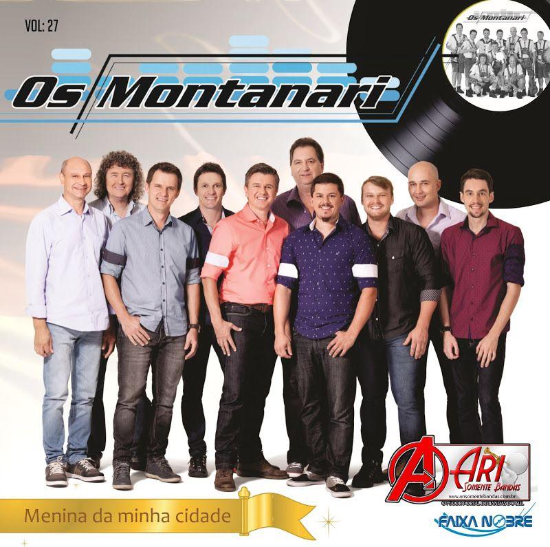 Os Montanar - Vol.27 - Menina Da Minha Cidade - CD