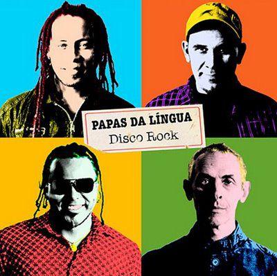 Papas Da língua - Disco Rock - CD
