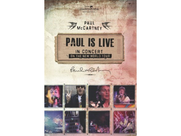 Paul Mccartney - Paul Is Live - DVD