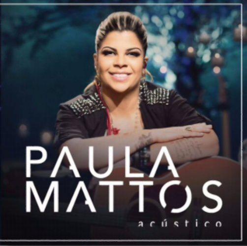 Paula Mattos - Acústico - Ao Vivo - CD