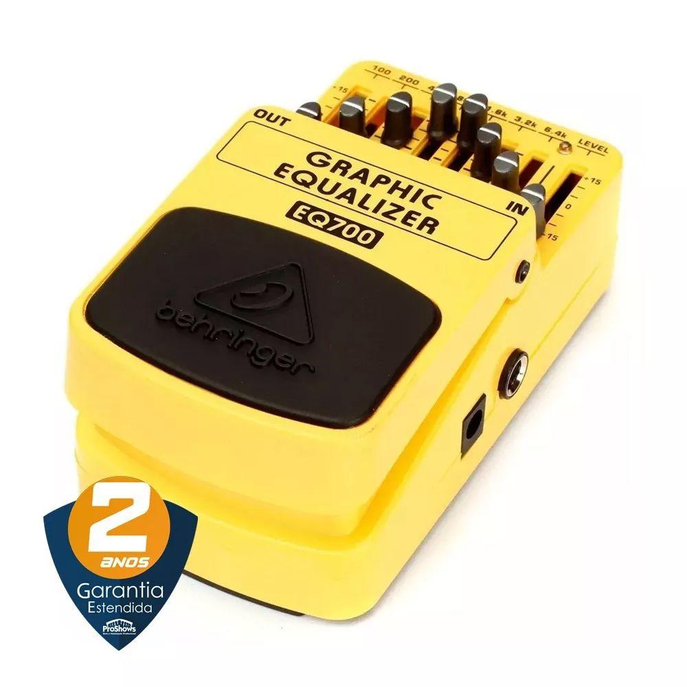 Pedal De Efeito Behringer Eq700 Mono Graphic Equalizer para Guitarra