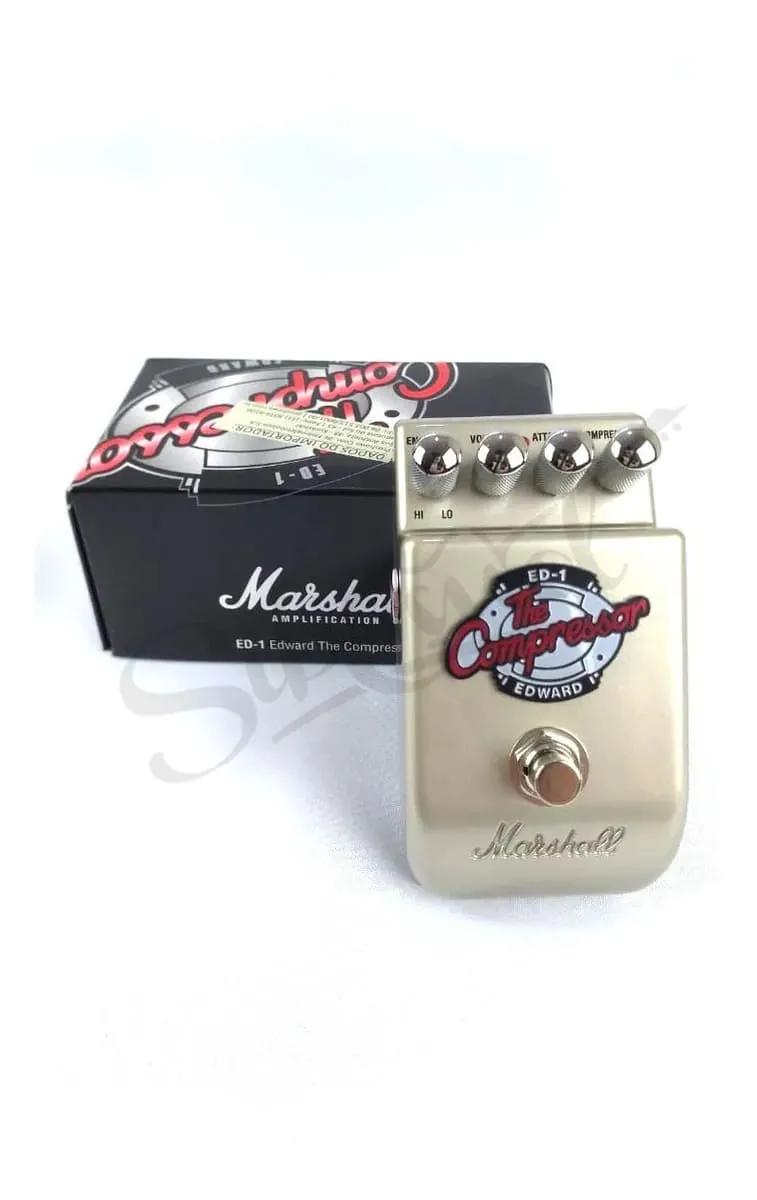 Pedal Guitarra Marshal ED 1 Compressor
