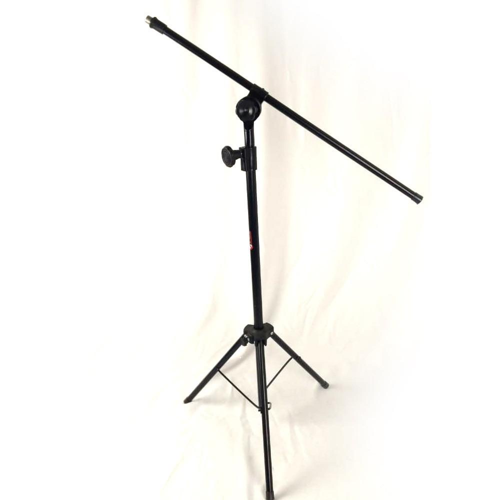 Pedestal para MIcrofone Slim Ricci Aço