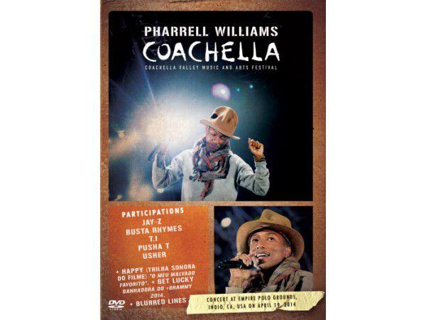 Pharrell Williams - Coachella Festival 2014 - DVD