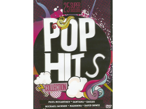 Pop Hits Collection - 25 Super Sucessos  - DVD