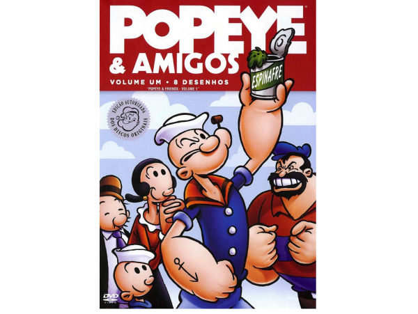 Popeye E Amigos - Volume 1 - DVD