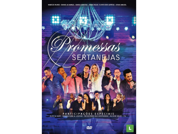 Promessas Sertanejas - DVD