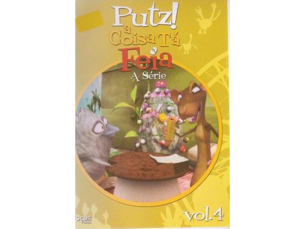 Putz! A Coisa Tá Feia - Vol.4 - DVD