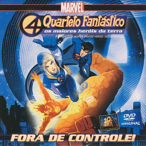 Quarteto Fantastico - Fora de Controle (Envelope)