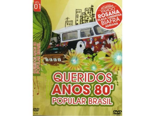 Queridos Anos 80 - Popular Brasil - DVD