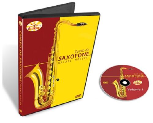 Rafael Nocera - Curso De Saxofone - Volume 3 - DVD