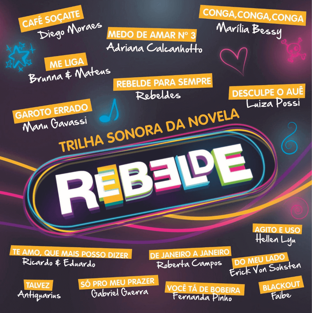 Rebelde - Trilha Sonora original - CD