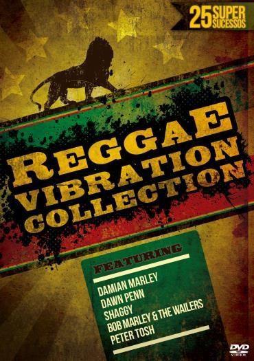Reggae Vibration Collection - 25 Super Sucessos - DVD