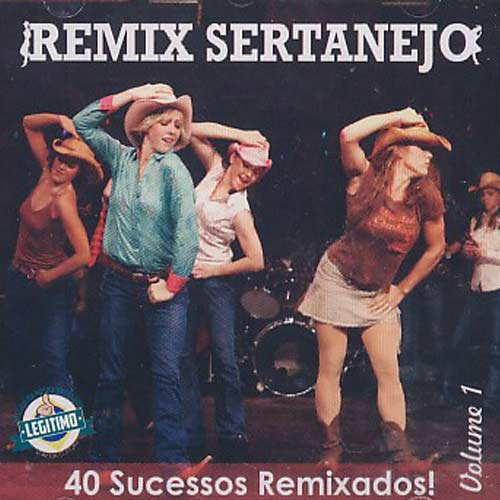 Remix Sertanejo - Volume 1 - CD