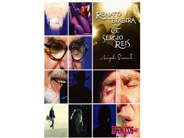 Renato Teixeira e Sergio Reis - Amizade Sincera 2 - DVD