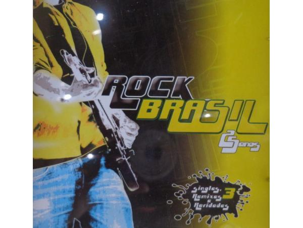 Rock Brasil - 25 Anos - Vol. 03 - CD
