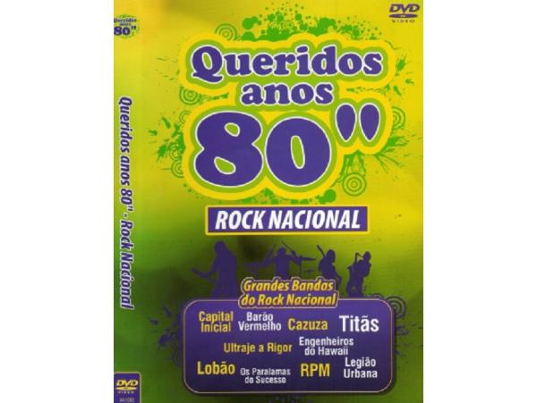 Rock Nacional -Queridos Anos 80 - DVD