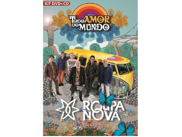 Roupa Nova - Todo Amor Do Mundo - CD + DVD